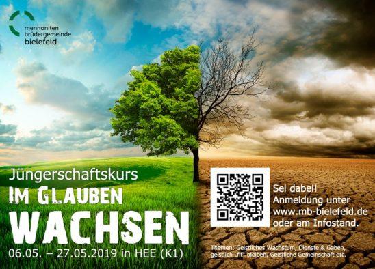 """Jüngerschaftskurs: """"Im Glauben wachsen"""" 2019"""