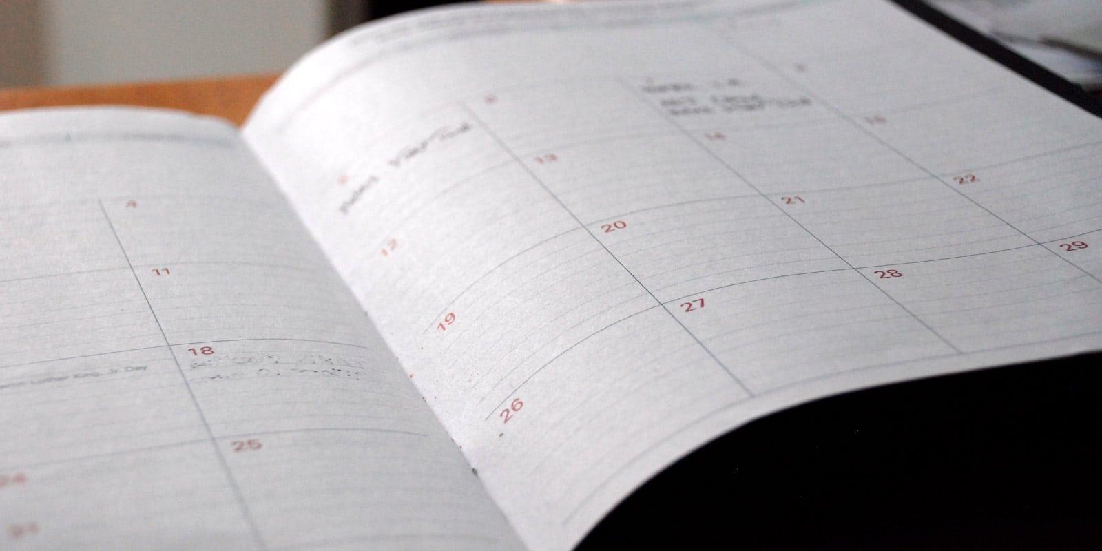 Kalender MB Bielefeld