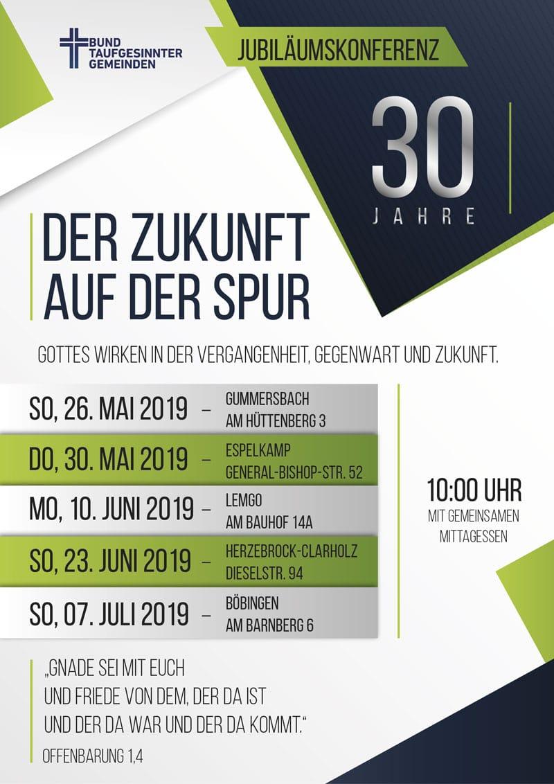 Jubiläums Konferenz - 30 Jahre BTG